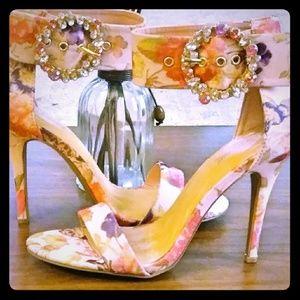 Blush Floral Sandal